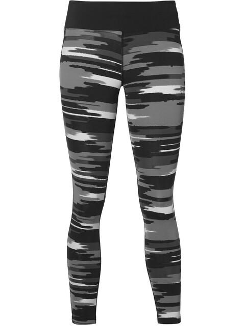asics fuzeX pantaloncini da corsa Donna grigio/nero